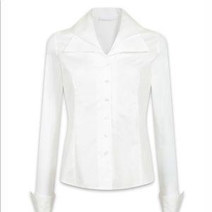 Anne Fontaine Pressly Stretch Poplin Shirt